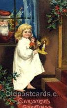 hol002549 - Santa Claus Christmas Postcard Postcards