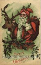 hol002550 - Santa Claus Christmas Postcard Postcards