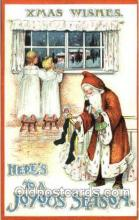 hol002553 - Santa Claus Christmas Postcard Postcards