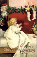 hol002554 - Santa Claus Christmas Postcard Postcards