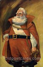 hol002558 - Santa Claus Christmas Postcard Postcards