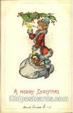 hol002561 - Santa Claus Christmas Postcard Postcards