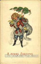 hol002562 - Santa Claus Christmas Postcard Postcards