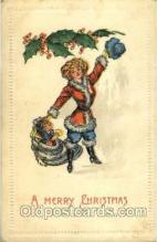 hol002563 - Santa Claus Christmas Postcard Postcards