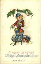 hol002566 - Santa Claus Christmas Postcard Postcards