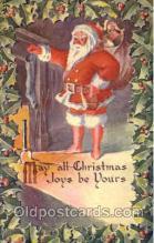hol002568 - Santa Claus Christmas Postcard Postcards