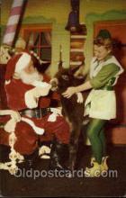 hol002570 - Santa Claus Christmas Postcard Postcards