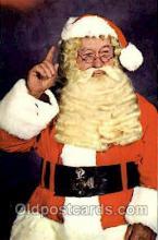 hol002571 - Santa Claus Christmas Postcard Postcards