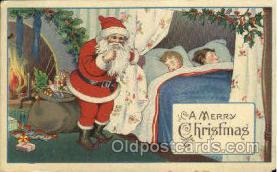 hol002574 - Santa Claus Christmas Postcard Postcards