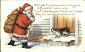 hol002583 - Santa Claus Christmas Postcard Postcards