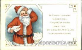 hol002584 - Santa Claus Christmas Postcard Postcards