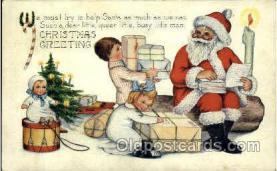 hol002588 - Santa Claus Christmas Postcard Postcards
