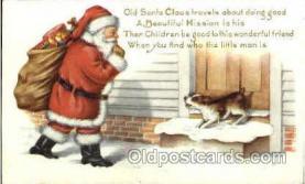 hol002593 - Santa Claus Christmas Postcard Postcards