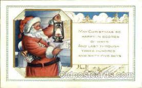 hol002594 - Santa Claus Christmas Postcard Postcards