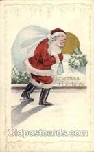 hol002605 - Santa Claus, Christmas, Xmas, Postcard Postcards
