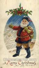 hol002608 - Santa Claus, Christmas, Xmas, Postcard Postcards