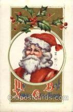 hol002624 - Santa Claus, Christmas, Xmas, Postcard Postcards