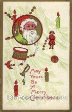 hol002632 - Santa Claus, Christmas, Xmas, Postcard Postcards