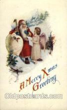 hol002643 - Santa Claus, Christmas, Xmas, Postcard Postcards