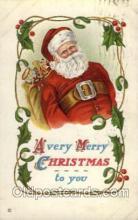 hol002652 - Santa Claus, Christmas, Xmas, Postcard Postcards