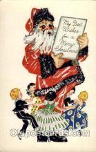 hol002654 - Santa Claus, Christmas, Xmas, Postcard Postcards