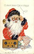 hol002666 - Santa Claus, Christmas, Xmas, Postcard Postcards