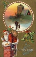 hol002706 - Santa Claus, Christmas, Xmas, Postcard Postcards