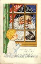 hol002711 - Santa Claus, Christmas, Xmas, Postcard Postcards