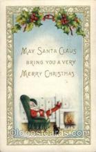 hol002722 - Santa Claus, Christmas, Xmas, Postcard Postcards
