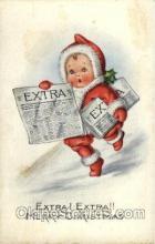 hol002725 - Santa Claus, Christmas, Xmas, Postcard Postcards