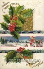 hol002735 - Santa Claus, Christmas, Xmas, Postcard Postcards