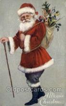 hol002841 - Santa Claus Holiday Christmas Post Cards Postcard