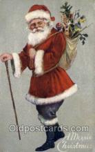 hol002841 - Santa Claus Holiday Christmas Post Cards Postcard