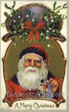 hol002843 - Santa Claus Holiday Christmas Post Cards Postcard