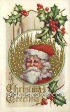 hol002845 - Santa Claus Holiday Christmas Post Cards Postcard