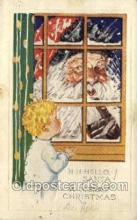 hol002849 - Santa Claus Holiday Christmas Post Cards Postcard