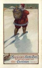 hol002851 - Santa Claus Holiday Christmas Post Cards Postcard