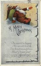 hol002852 - Santa Claus Holiday Christmas Post Cards Postcard