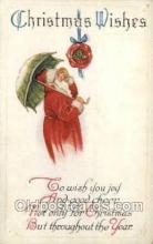hol002853 - Santa Claus Holiday Christmas Post Cards Postcard