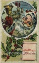 hol002855 - Santa Claus Holiday Christmas Post Cards Postcard