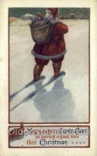 hol002862 - Santa Claus Holiday Christmas Post Cards Postcard