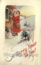 hol002863 - Santa Claus Holiday Christmas Post Cards Postcard