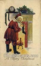 hol002867 - Santa Claus Holiday Christmas Post Cards Postcard