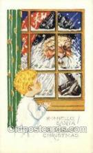 hol002869 - Santa Claus Holiday Christmas Post Cards Postcard