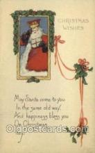hol002870 - Santa Claus Holiday Christmas Post Cards Postcard
