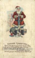 hol002871 - Santa Claus Holiday Christmas Post Cards Postcard