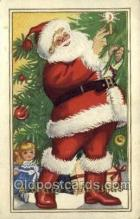 hol002887 - Santa Claus Holiday Christmas Post Cards Postcard