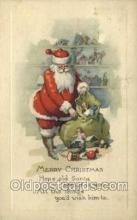hol002889 - Santa Claus Holiday Christmas Post Cards Postcard