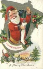 hol002891 - Santa Claus Holiday Christmas Post Cards Postcard