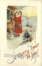 hol002892 - Santa Claus Holiday Christmas Post Cards Postcard